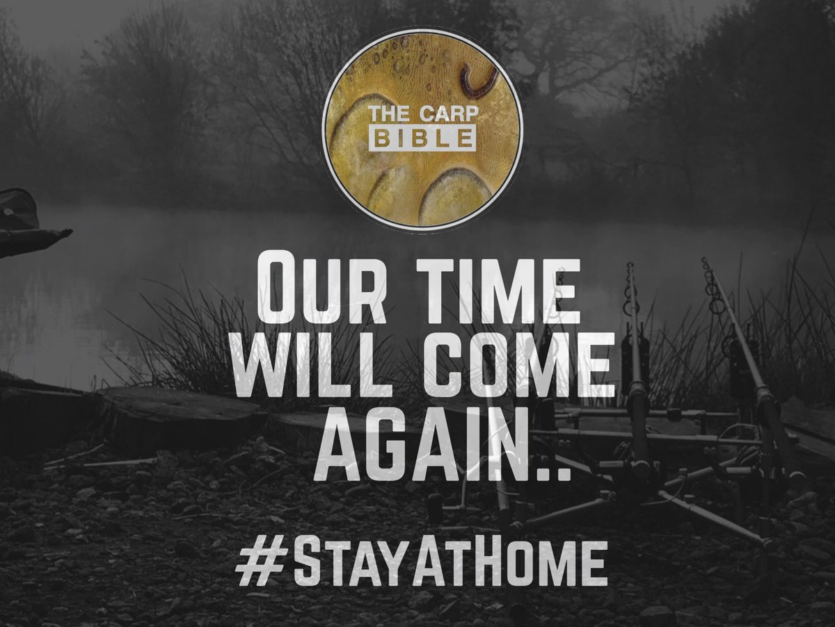 """Our time will come again"" @TheCARPbible  #StayAtHome #Carp #CarpFishing #Fishing https://t.co/a"