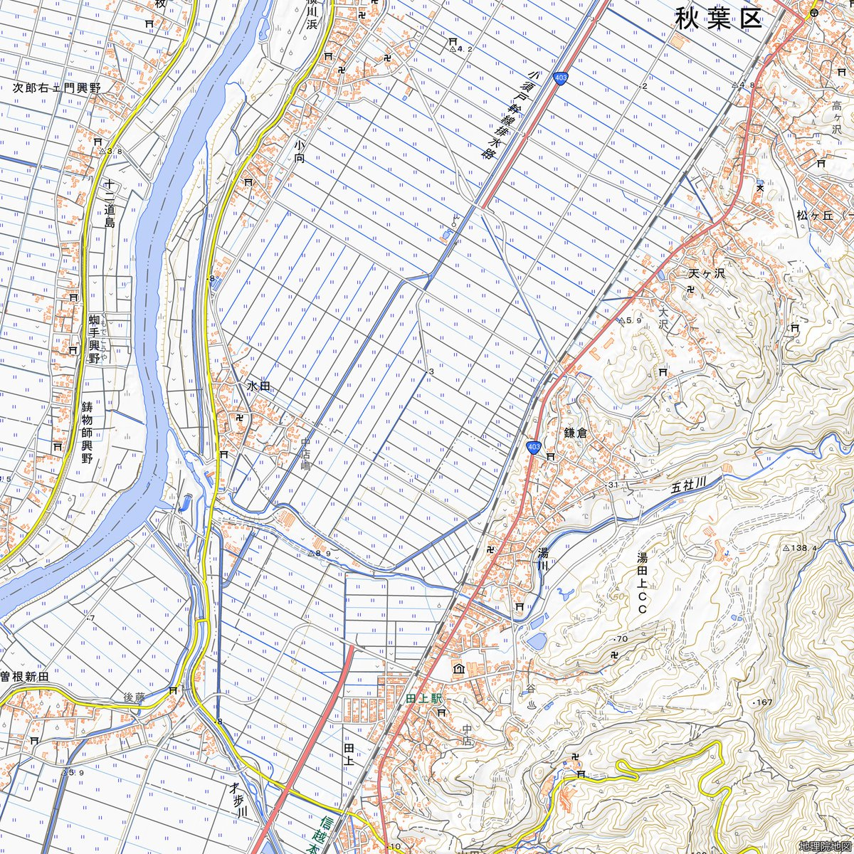 地理 院 地図 vector