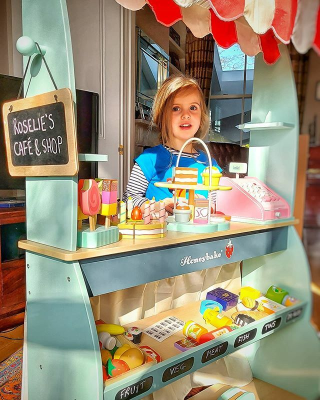 test Twitter Media - Isolation isn't so hard when you're lucky enough to have a cafe & shop in your living room, even if trade's a bit slow. #homeschooling #play #imagination #toddler #shopping #covid_19 #stayhome https://t.co/vMwzJNhHEn https://t.co/mwibBYWQfq