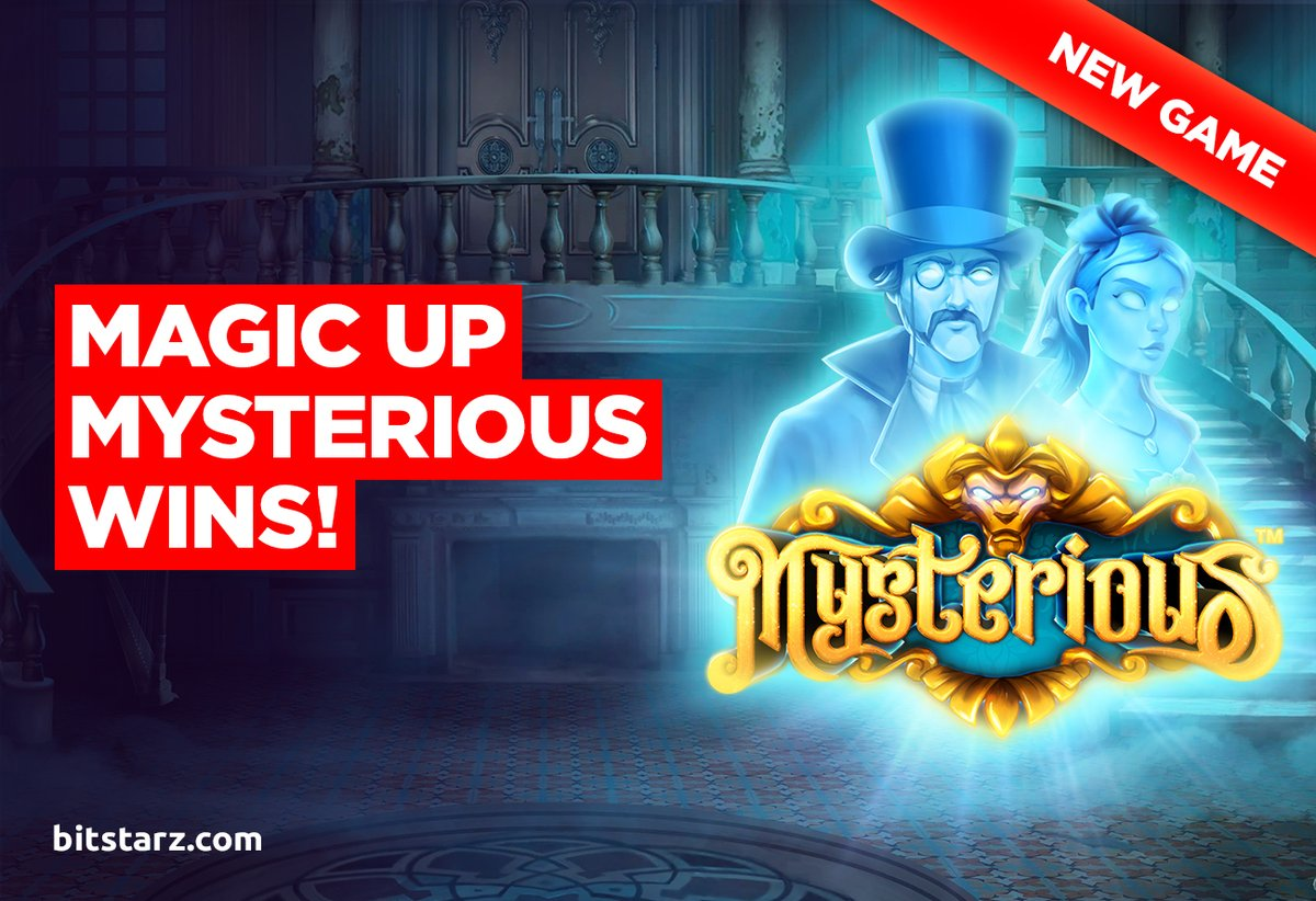 Summon some of the biggest #wins we've ever seen as you #spin the #reels in Mysterious #slot, brand-new from @PragmaticPlay.  #Mysterious #Bitstarz #NewGame #GameGuide #OnlineSlots #SlotGames #OnlineCasino #BitcoinCasino