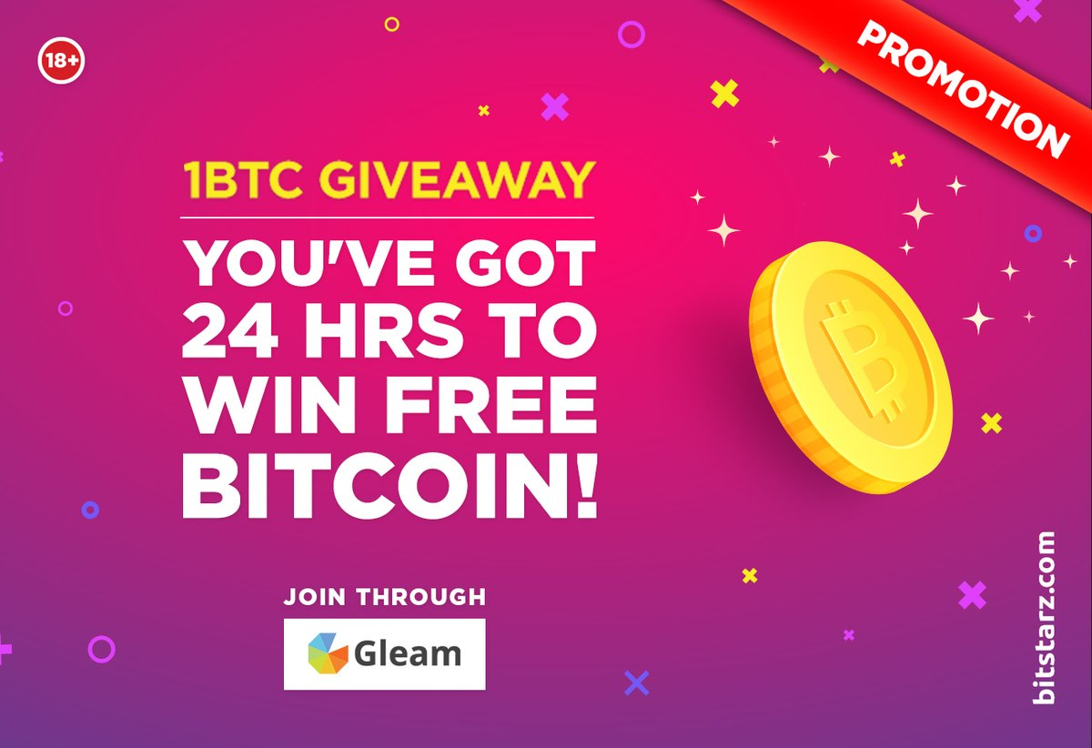 If you want to win free Bitcoin here at #BitStarz, you better hurry up! You've got less than 24 hours until the draw goes ahead, so complete those tasks to win #Bitcoin!  #FreeBitcoin #BitcoinGiveaway #BitcoinCasino #OnlineCasino #Promotion