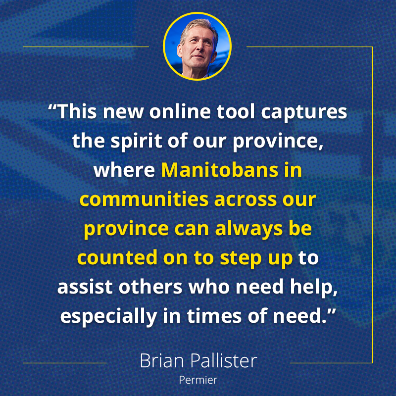 test Twitter Media - The generosity and innovation of Manitobans to help those in need of assistance is displayed in this new web application.   Check it out here: https://t.co/CCehobnmuc  #mbpoli https://t.co/lBkawVTXm5