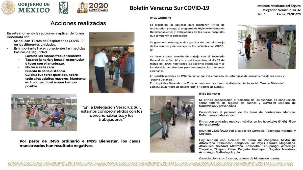 En #VeracruzSur estamos comprometidos con tu salud #PrevenciónCoronavirus #SanaDistancia #CincoDeCinco