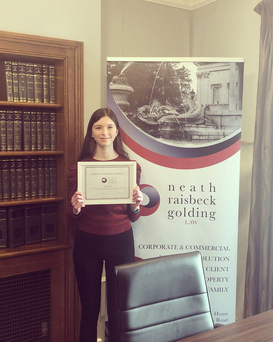 test Twitter Media - It's that time again and another student who has spent a week with us for work experience!   It has been a pleasure to have Amy with us from The Castle School. She has been an absolutely fantastic student. 🎉  #ThinkNRGLaw #WorkExperience #BristolLawFirm https://t.co/uLxiUq2XuO