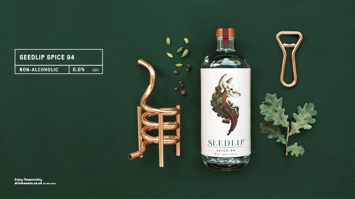 Containing no ABV or artifical flavours but brimming with botanicals and warm notes, Spice 94 from @SeedlipDrinks is the perfect non-alcoholic alternative this winter. #nonalcoholic #highball  Read more here https://t.co/4s6wyYMXyV https://t.co/MsUPsWpP7g