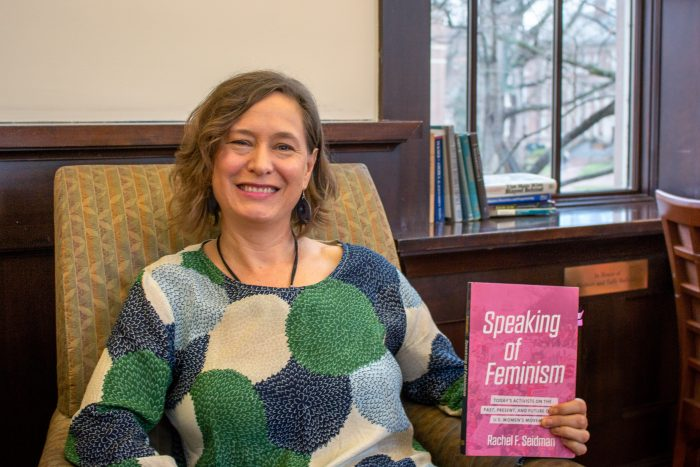 "With wonderful surprises and powerful stories, Rachel Seidman collects the voices and lives of feminist activists in her new book, ""Speaking of Feminism"" http://t.co/IgylCpRj2W @UNChistory @SOHPoralhistory http://t.co/X4rGkBDIbj"