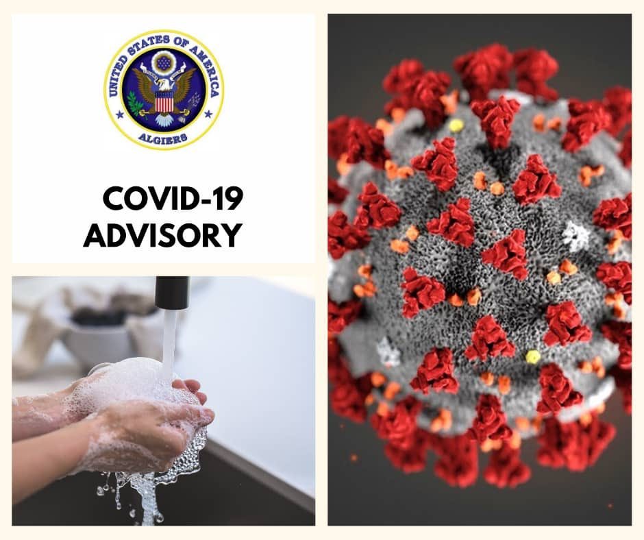 Updated COVID-19 message for U.S. citizens.  Algeria country-specific information:  https://t.co/859DpQ7lA8 https://t.co/si0mwAAZ0s