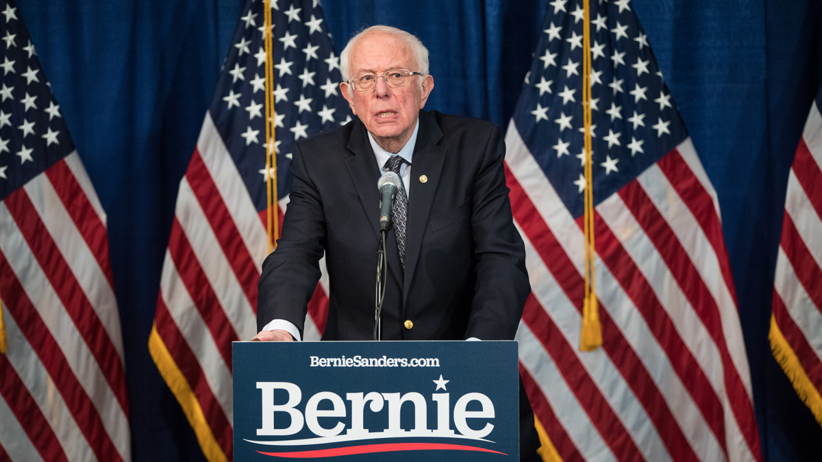 Bernie Sanders says U.S. households should get $2,000 per month during #Coronavirus pandemic: