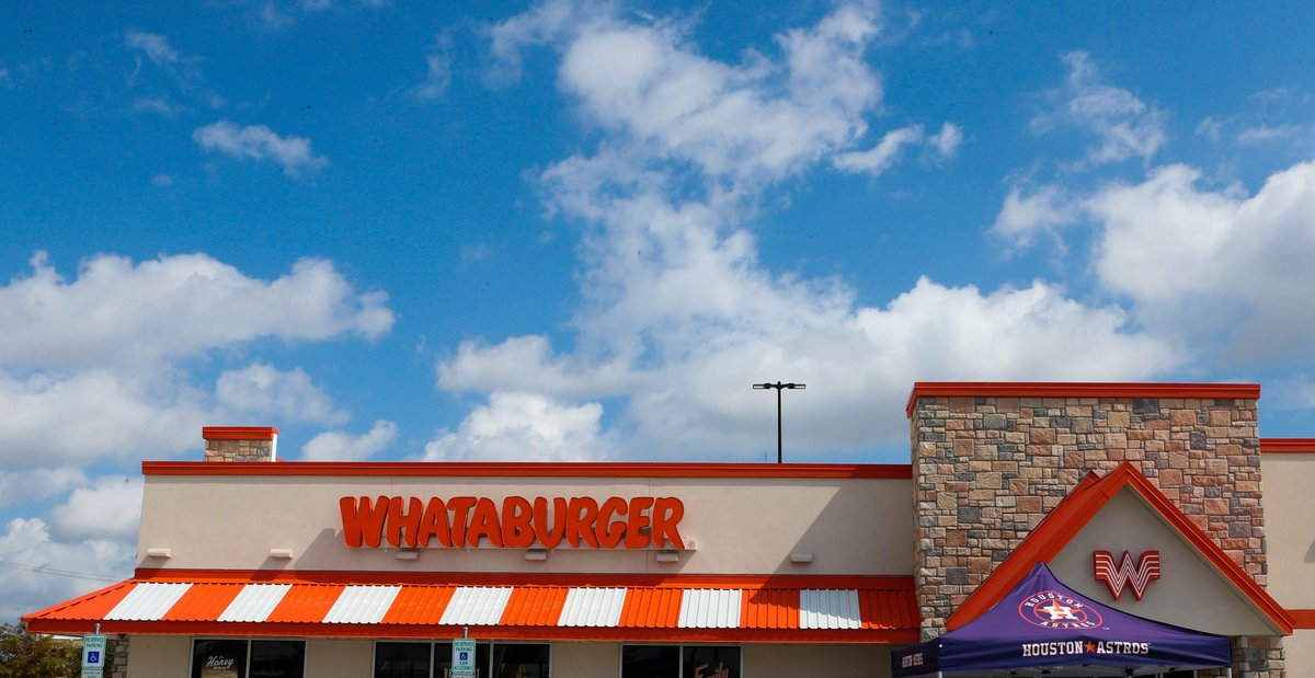 It's so good, we decided to do it again!   RETWEET to win a free @Whataburger burger every week for a year!  #OpeningDayAtHome #ForTheH
