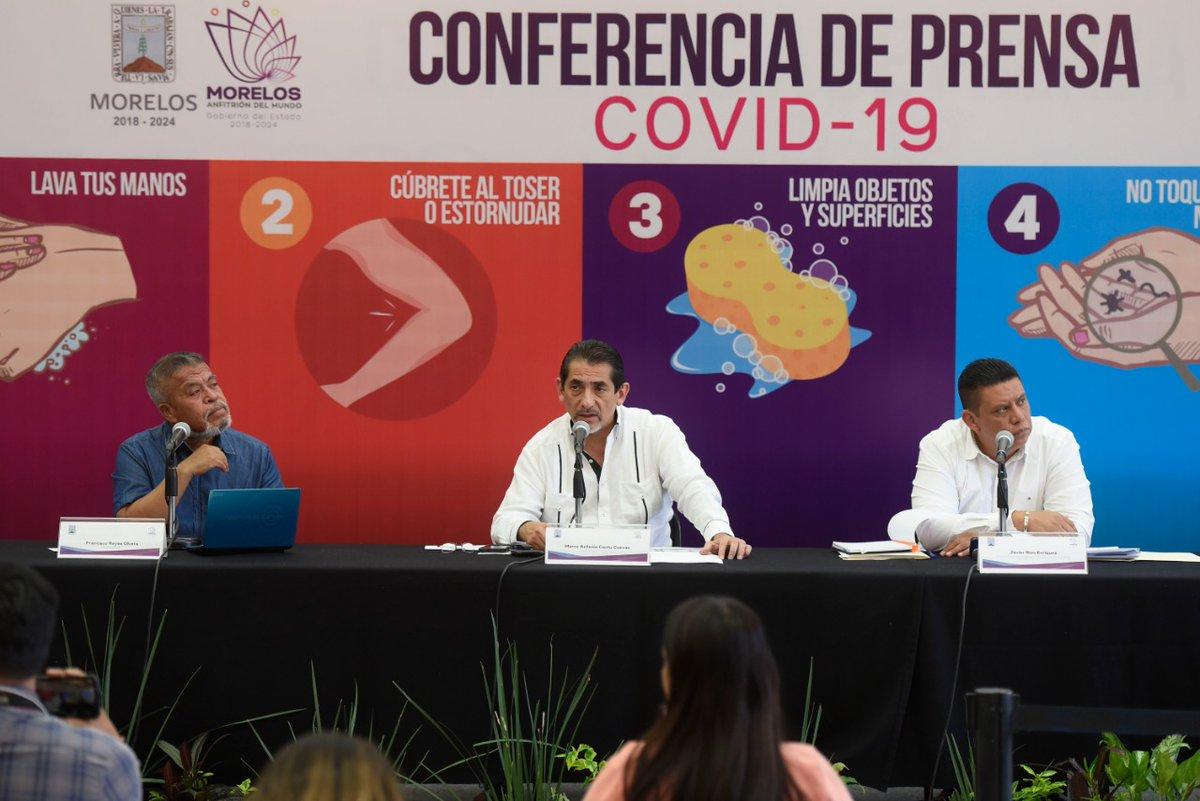 Comunicado de Prensa   Situación actual del Coronavirus COVID-19 en Morelos.  @SSM_Morelos informa que en Morelos se han confirmado cuatro casos de coronavirus COVID-19, se han descartado 31 y doce están como sospechosos.