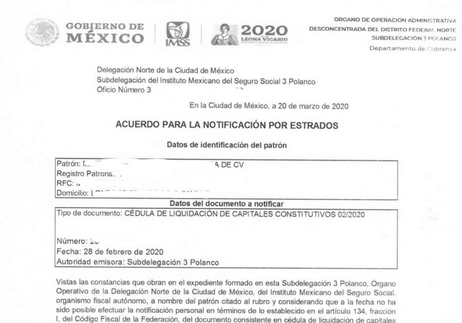 Esto es lo que sucede cuando No se coordinan la @SSalud_mx con la @STPS_mx y las autoridades fiscales como el @Tu_IMSS.  1) Patron dado de baja por 251 2) Los trabajadores también en baja 3) Cancelacion de certificado para IDSE 4) Notificación por estrados 5) El @TFJA_MEX cerrado
