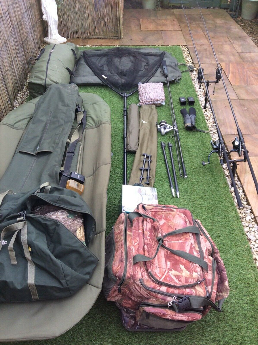 Ad - Carp Fishing Setup For Sale On eBay here -->> https://t.co/mpsg8yMtBL  #carpfishing https