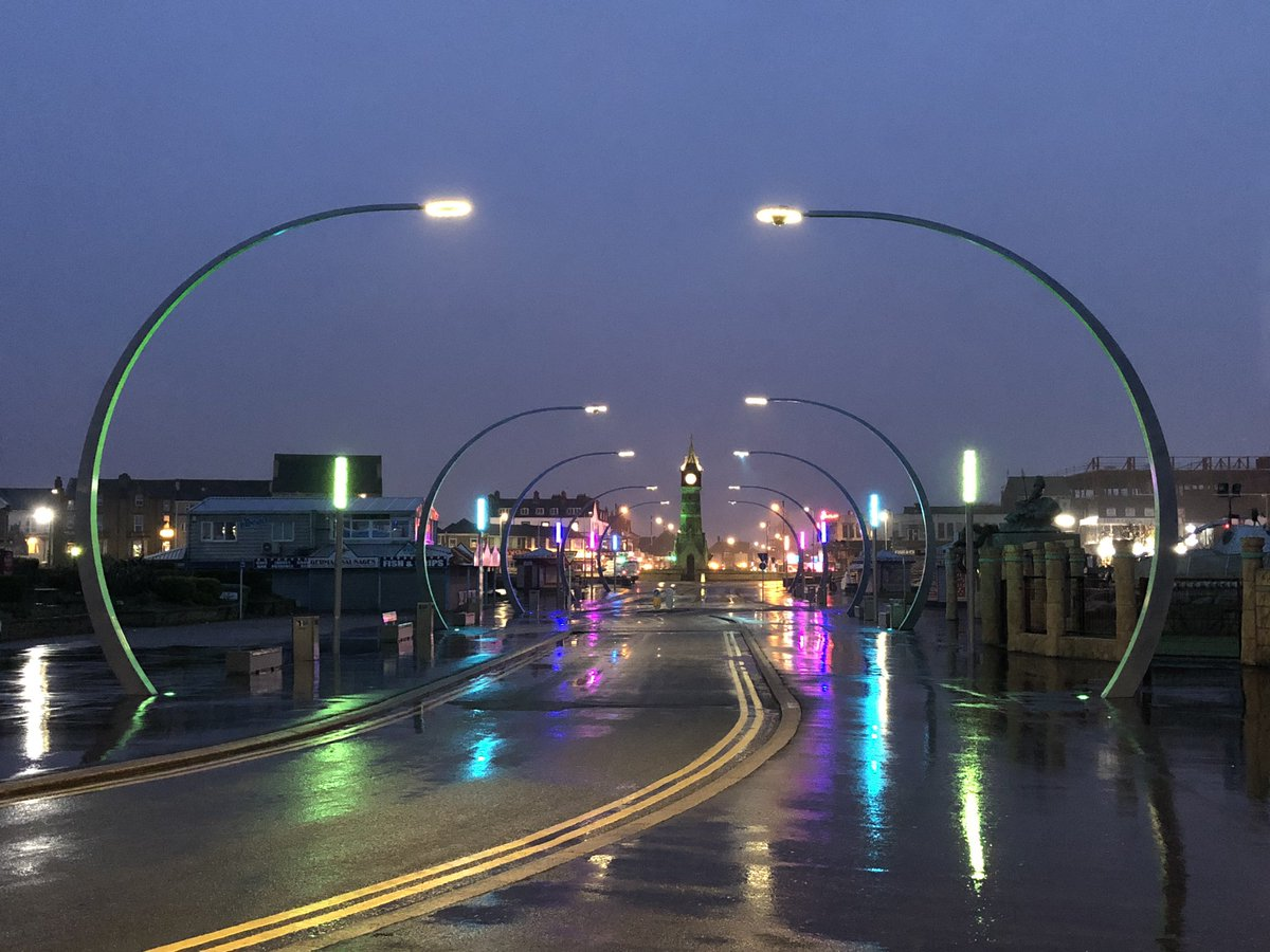 test Twitter Media - It's all so pretty at #Skegness with the new lights on, live pictures sent via @LiveU to @itvcalendar and @ITVCentral https://t.co/W3utifKr5S