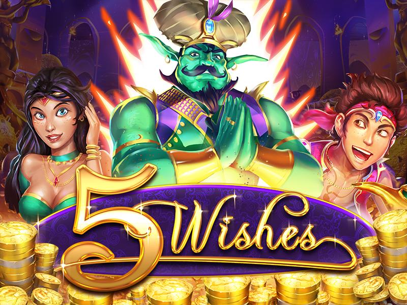 Play the #new 5 Wishes #slot today:  Man genieSlot machine #pokies #casino #uscasino #auscasino #bitcoin #neosurf #freespins #onlinecasino #slots #games 🧞🧞🧞