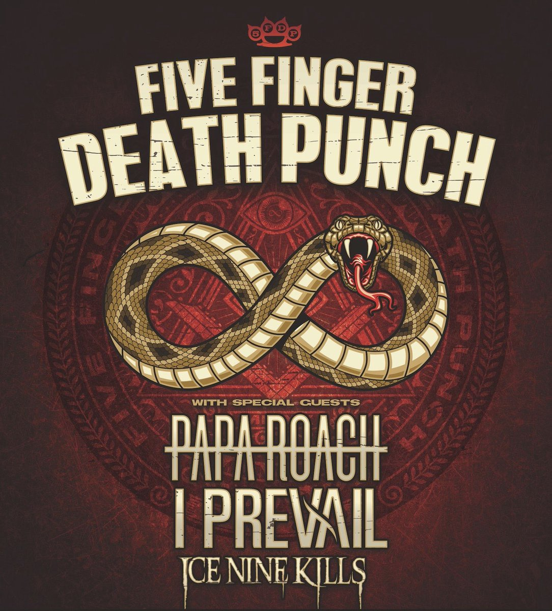 👉 Important Show Information: Five Finger Death Punch at PPG Paints Arena on May 14th has been rescheduled to Friday, October 30th. Your ticket will be honored for the rescheduled date. For any further ticket inquiries please reach out to point of purchase