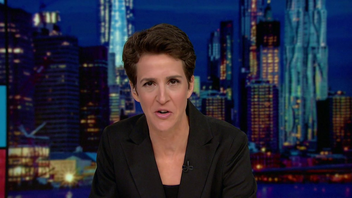 """.@maddow nailed it last night.  """"If Trump is going to keep lying like he has been every day on stuff this important, we should, all of us, stop broadcasting it. Honestly, it's going to cost lives.""""  WATCH."""