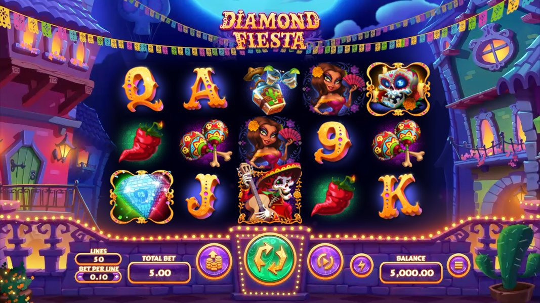 🚨#RTGcasinos have a brand new #slot coming very soon - Diamond Fiesta! Launching in April at all RTG #onlinecasinos. Find out more:  🇲🇽🌶️ #MexicanSlot #pokies #casinos #vegas #lucky #win #games #slots #bitcoin #uscasinos
