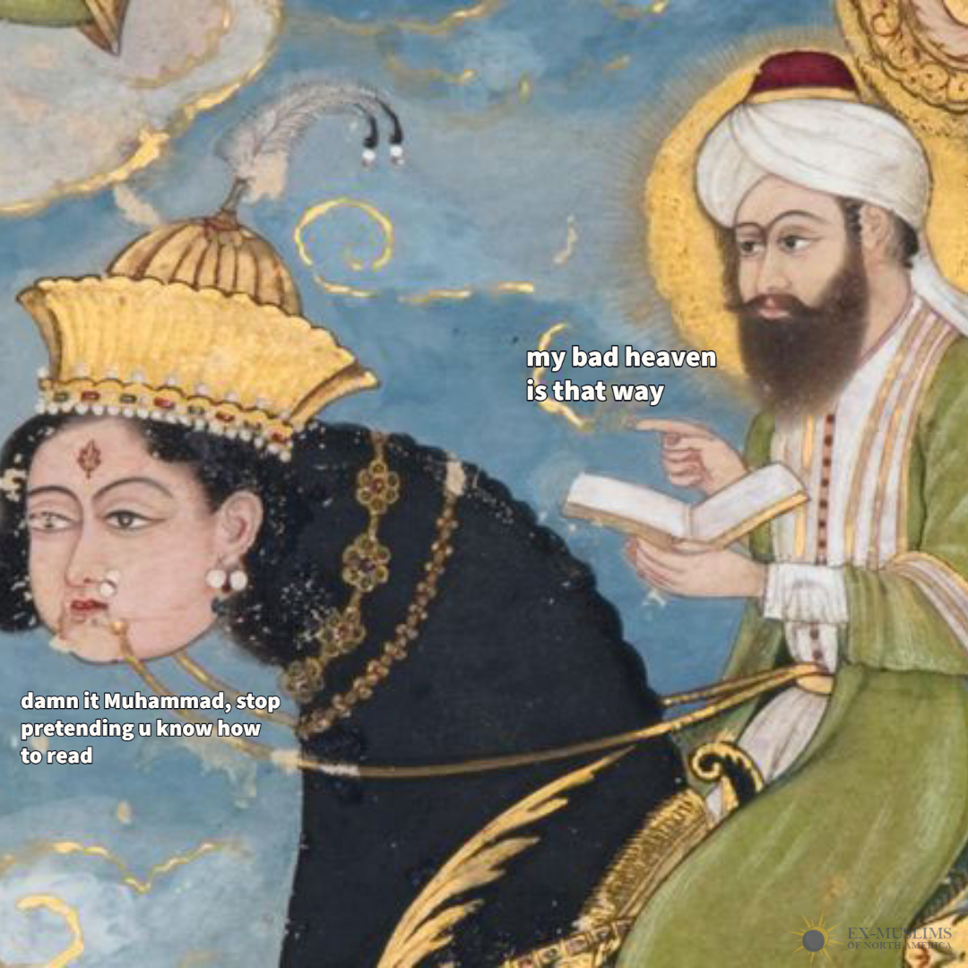 Today is #SpacePegasusDay!   According to Islam the first man in space was Muhammad.  #Miraj
