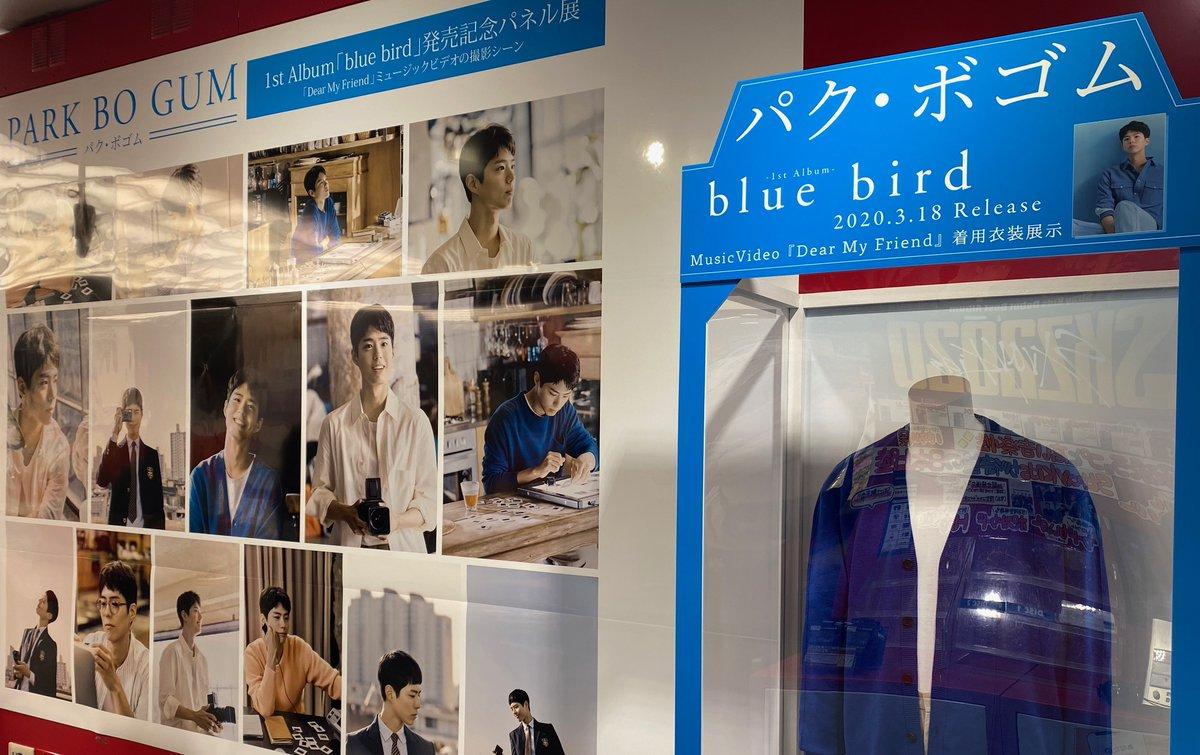 """test ツイッターメディア - 【パク・ボゴム】 パク・ボゴム1stアルバム『blue bird』販売中です。 1Fにて開催中の""""パネル展&衣装展""""は、本日最終日となります。(甲斐田) 渋谷店施策→https://t.co/4HK7tK3IfR #ParkBoGum  #박보검   #Bogummy #パクボゴム   #ボコミ #bluebird  #DearMyFriend #タワ渋kpop https://t.co/hs46MjSYEm"""