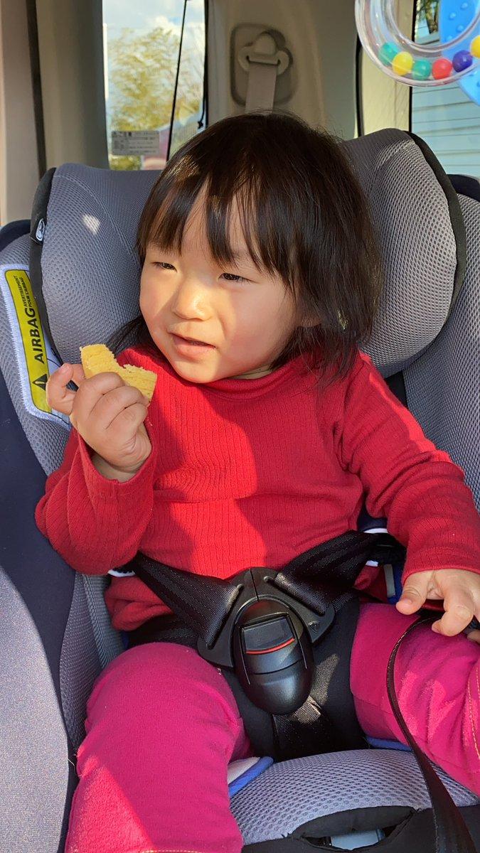 test ツイッターメディア - マダムシンコでマダムブリュレ買いに来たら。 マダム仕様のロールスロイスが停まっててまさか!と思ったらいらっしゃった!! 真っ赤にヒョウ柄のデコって凄ッΣ(゚艸゚*)  お子様用に小さいバームクーヘン貰ってメイは初バアム。  3口で完食(笑)御馳走さまでした! https://t.co/ynXrkVh6sd