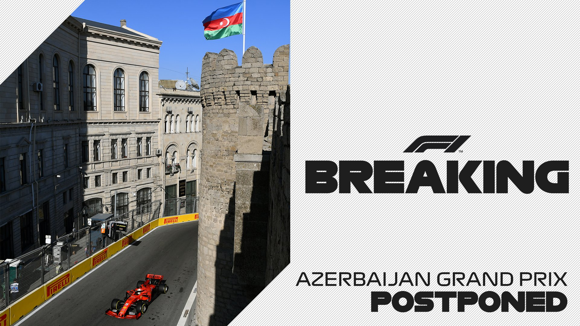 Organisers of the Azerbaijan Grand Prix have taken the decision to postpone the 2020 race due to the global spread of Coronavirus https://t.co/o5cKQb2obY