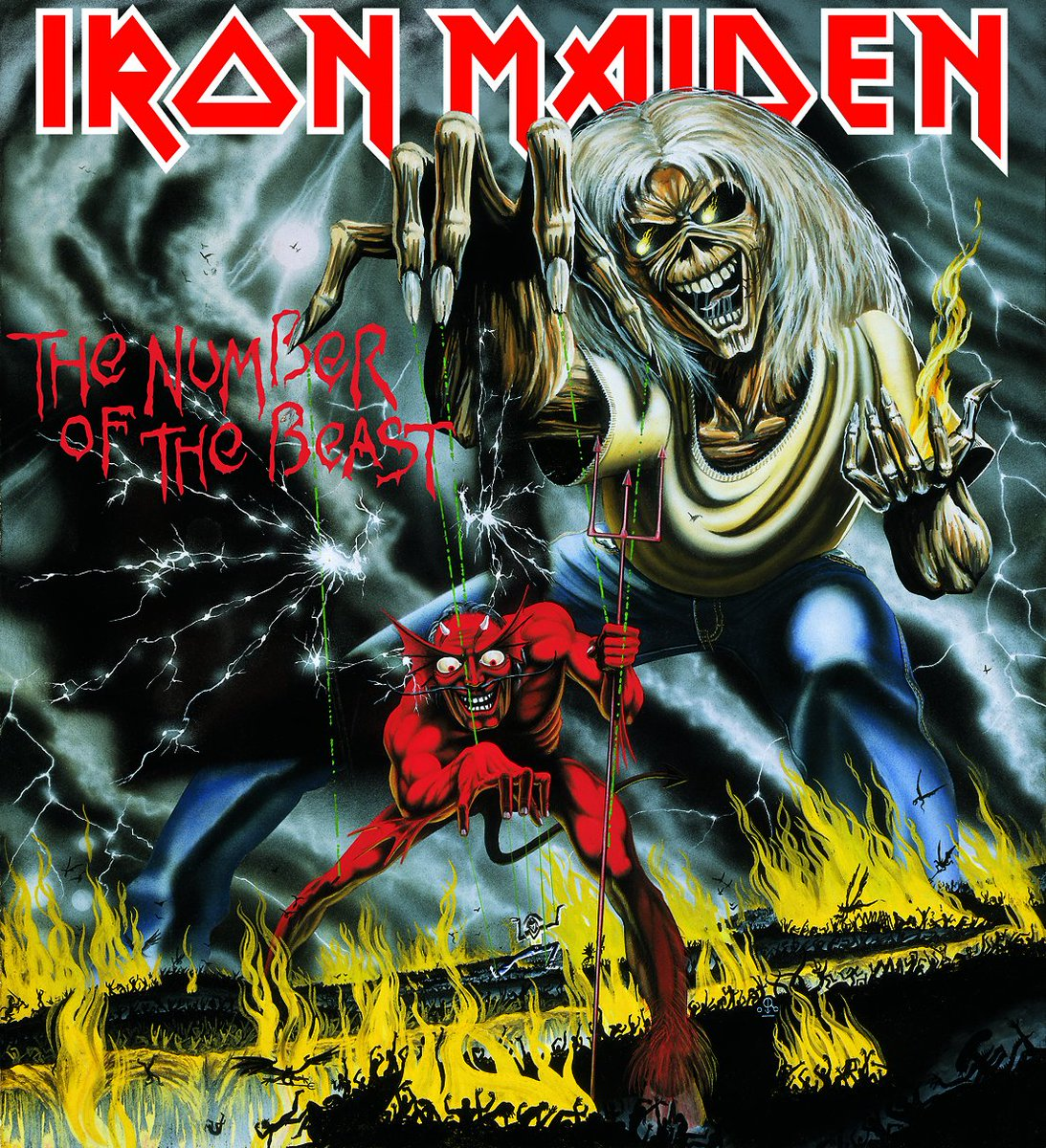 #MusicMonday - Part 1   It was NOTB's birthday yesterday - Tell us your favourite track from the album in the comments below (and explain why)!  #IronMaiden #TheNumberOfTheBeast #Album #BelatedHappyBirthday