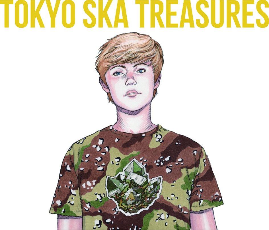 test ツイッターメディア - スカパラのベスト盤『TOKYO SKA TREASURES~ベスト・オブ・東京スカパラダイスオーケストラ』のジャケットを大友克洋さんに描いて頂きました。大友さんが掲げたテーマは「永遠の少年たちに、トレジャーズを。」普段からスカパラを聴きつつお仕事されているとの嬉しいお言葉も聞きました。感謝!#AKIRA https://t.co/7Xs8v7vLeM