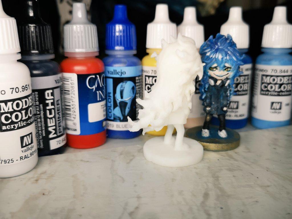 test ツイッターメディア - 作ったフィギュアを塗る為に、 ボークスさんのでファレホ塗料7本で1本おまけキャンペーンで買いました! おまけ色がSKYBlue …青に偏り過ぎだwww 『拙者のエクトプラズムもカラーに!?楽しみですなーヒヒッ♪』 https://t.co/SE9CA8YAkr