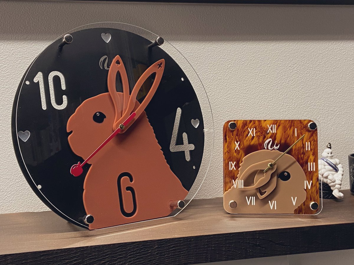 test ツイッターメディア - ブース番号:G-280 出展:両日 出展名:うさモノ  うさぎをはじめうちの子 オリジナルグッズを制作しています!  フェスでは「お耳が動く時計」と 新作のネコ・ウサギのキーホルダーを 販売予定でした!😢  オンラインショップはこちら https://t.co/3NsvjmKo0f  #デザフェス #幻のG280 @designfesta https://t.co/czgJWWEmj9