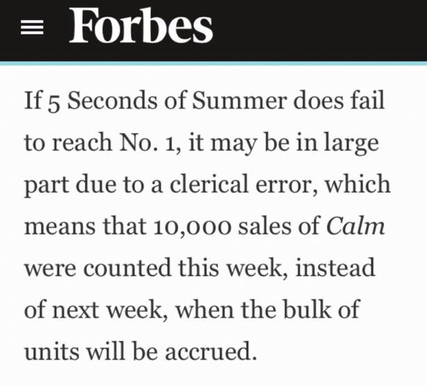 Even Forbes recognised it, you should too #billboardcountthe10k