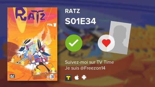 Je viens de voir cet épisode -->  S01E34 of Ratz!#ratz  #tvtime