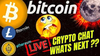 LIVE DISCUSSION bitcoin litecoin ethereum price...