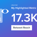 My week on Twitter 🎉: 115 Likes, 38 Retweets, 17.3K Retweet Reach. See yours with https://t.co/rzdj13LMNT https://t.co/VUzz7ak2d8