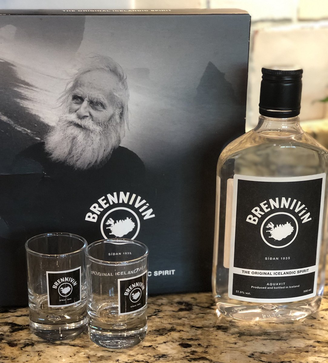 Impulse purchase the last time I went through the duty free shop leaving Iceland. No clue about whether/how to drink it. Any ideas?