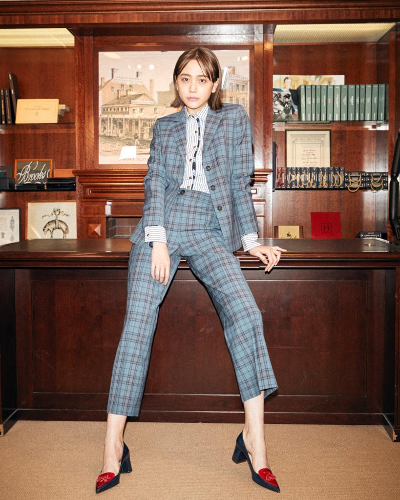 test ツイッターメディア - 女優・モデルの松井愛莉さんがクールに着こなしてくれたのは、レッド フリースの新作セットアップ。  @airi_staff #RedFleeceGirls https://t.co/j0mM4nis1h
