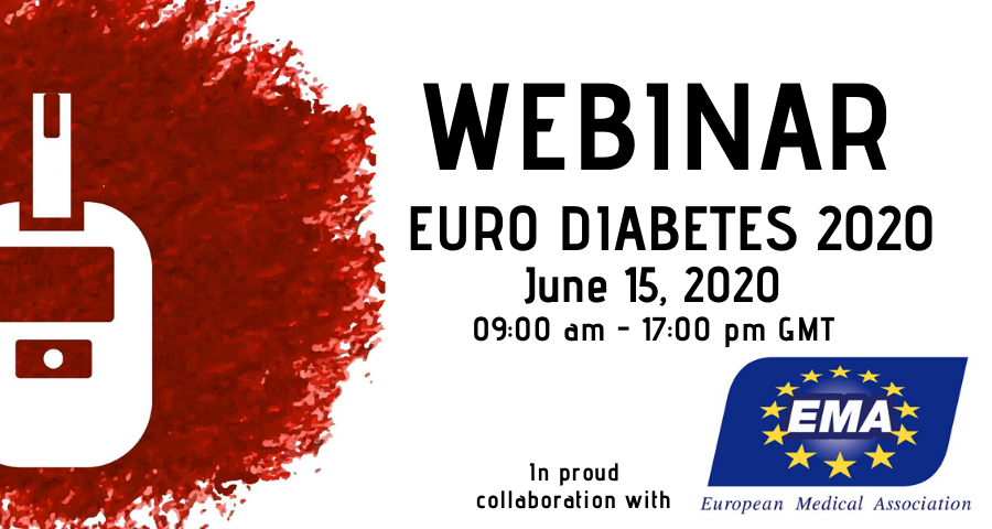 test Twitter Media - EURO DIABETES 2020 WEBINAR Register Today!! In collaboration with EMA-European Medical Association Join the experts online https://t.co/xYUuRFfRiP #Diabetes #Healthcare #Diabetologist #Endocrinologist #Endocrine #t1 #t2 #Gestationaldiabetes #DiabetesMellitus #insulin https://t.co/xqhq00vdLl