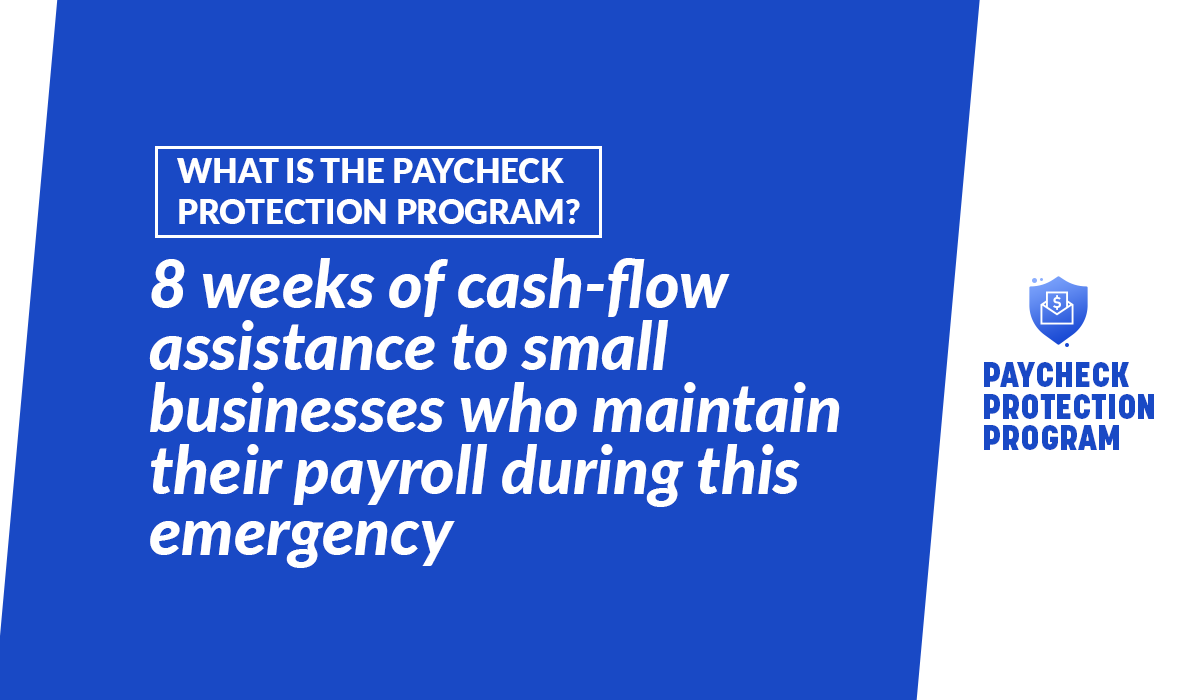 Go to  to apply for the Paycheck Protection Loan Program!