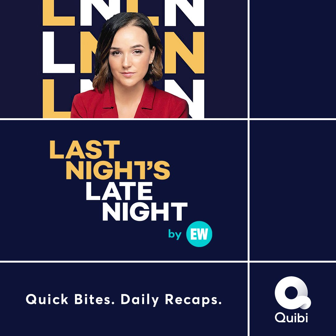 Quibi is here, and so is our new show, 'Last Night's Late Night!' Host @heathergtv is bringing you late night TV's funniest jokes and most revealing interviews, so you're always in the know.   New episodes drop every weekday at 6:30am ET, only on @Quibi: