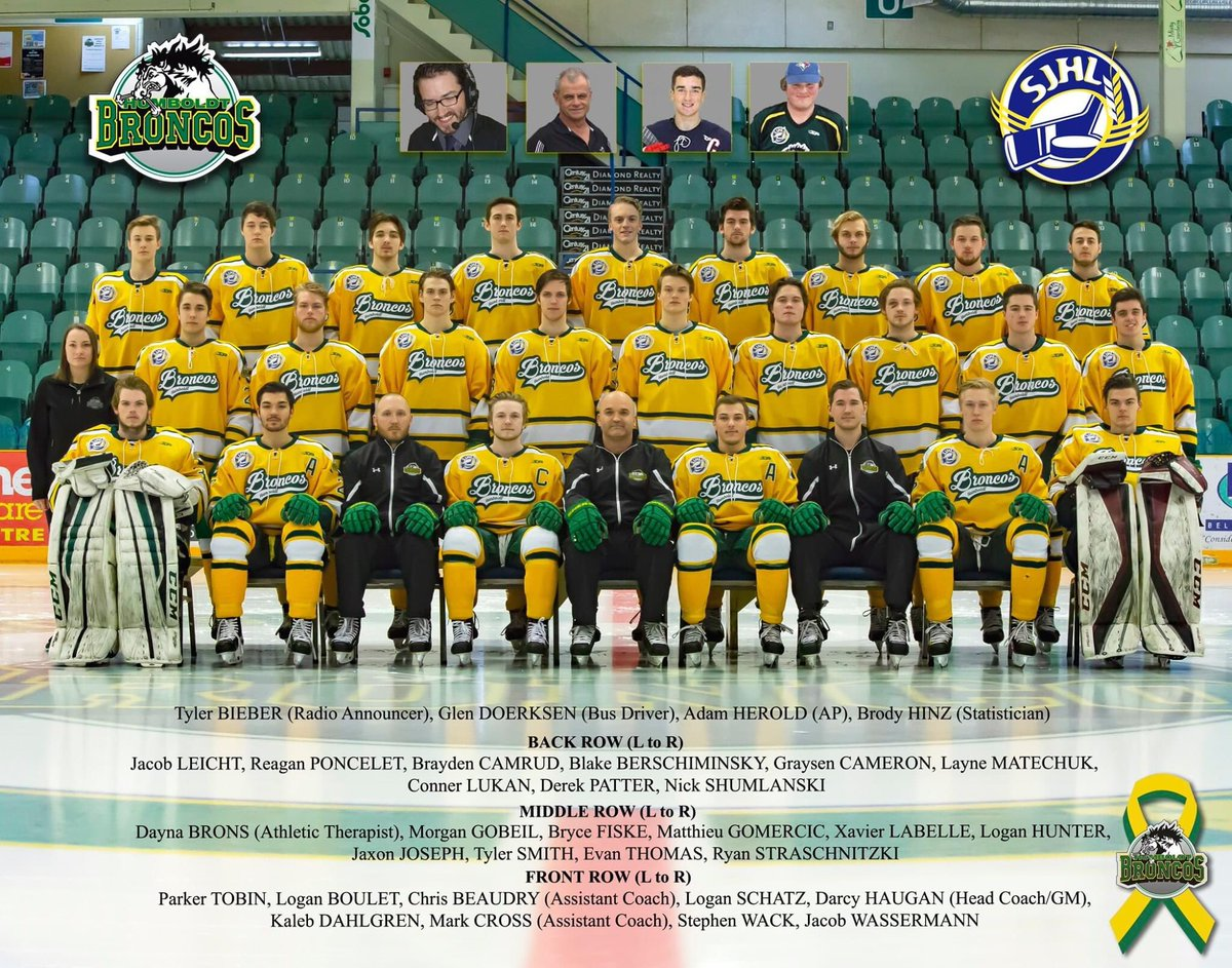 April 6, 2018 is a day the Humboldt Broncos organization, along with the hockey world, will never forget.  Today and every day, we remember and pay tribute to all 29.  Always in our thoughts and prayers.  #onceabroncoalwaysabronco