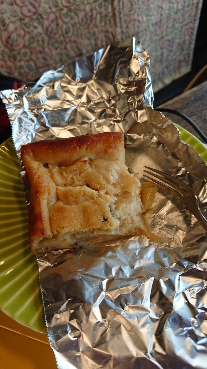 test ツイッターメディア - 家が寒いのでお昼はなにか暖かいものにしないと肉南蛮蕎麦とかだな葱たっぷりで・・・とは言えさっきおやつ食べたからもう少し後でいいけど。おやつは義妹作のヨーグルトりんごケーキ、美味しかった♪ https://t.co/ybR3Z49Y3X