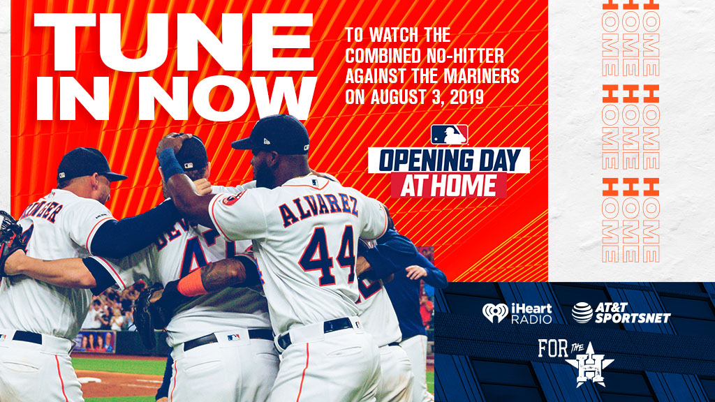 Another No-No.   📺: @ATTSportsNetSW 📻: @SportsTalk790 & 850 AM  #OpeningDayAtHome #ForTheH