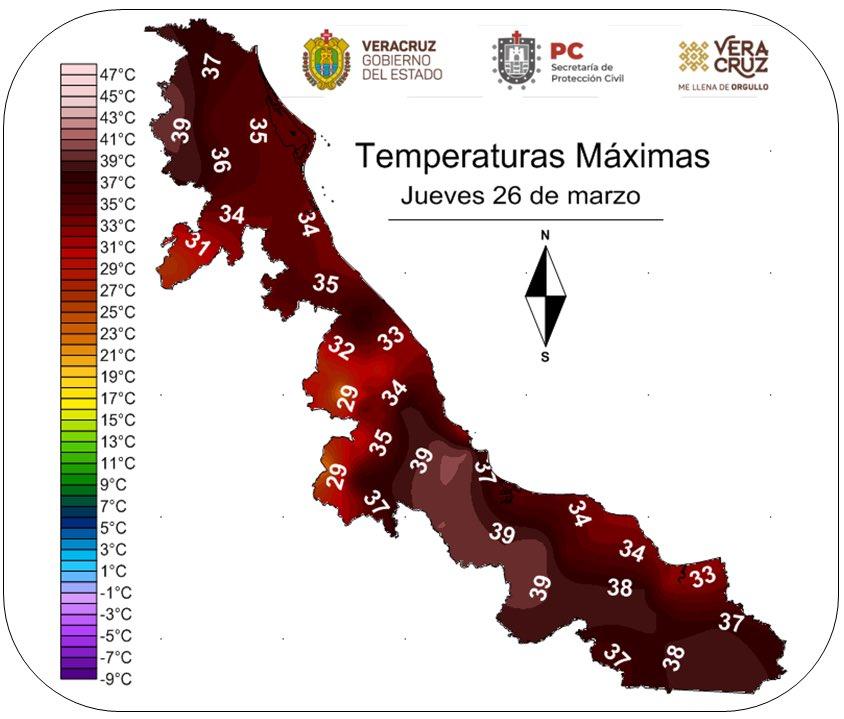 ⚠️PRECAUCIÓN por #OlaDeCalor🥵  En los próximos días se prevé que las temperaturas se incrementen aún más, especialmente viernes-sábado por evento de Surada.  🌡Las temperaturas máximas pueden alcanzar 31-37ºC en montaña, 33-39ºC en costas y 40-45ºC en llanuras  ¡Cuiden su salud!