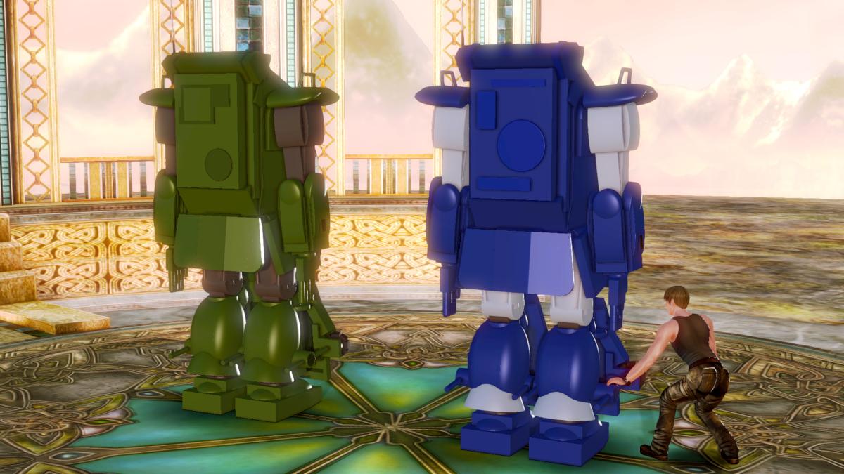 test ツイッターメディア - ブルーAT&トータス ロールアウト #装甲騎兵ボトムズ #ボトムズ #ハニーセレクト #ロボット #メカ https://t.co/yfdoywJaj5 https://t.co/yEaBWnW8PN