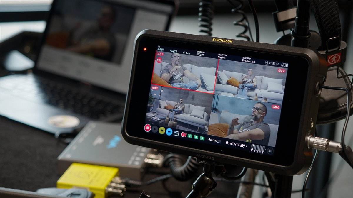 RT @AtomosGlobal: Need to live-stream? Check out our Shogun 7 HDR monitor-recorder-switcher. With easy-to-use live switching & multi-channe…