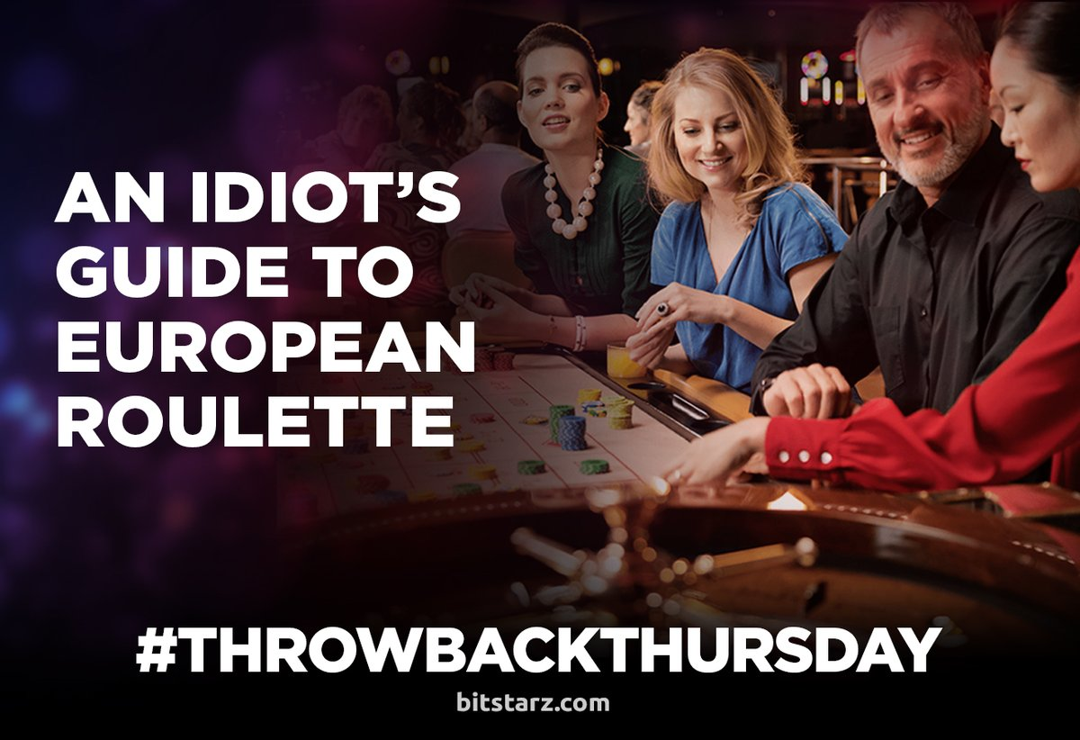 This #TBT we cast our minds back to when we taught you the best way to play European #Roulette!  #EuropeanRoulette #ThrowbackThursday #Bitstarz #BitcoinCasino #OnlineCasino #OnlineRoulette