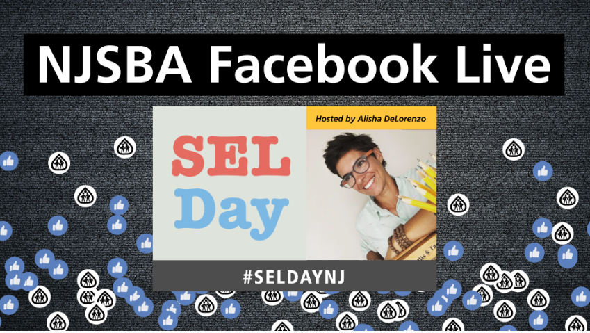 Facebook Live Special Event: Celebrate International SEL Day  Join in with all New Jersey educators and education leaders, students, and families for a special Live presentation at 1 p.m on NJSBA's Facebook page! #SELDayNJ  @NewJerseyDOE @DrLRepollet @GovMurphy https://t.co/iDFhvisX5f