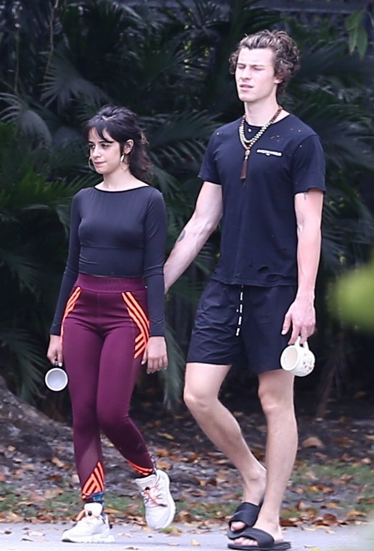 RT @DMLMedia: Shawn and Camila this morning in Miami walking around the neighborhood https://t.co/fdjXWajte5