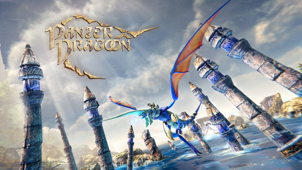 Pilot the Blue Dragon through incredible landscapes while battling giant creatures and battleships, when #PanzerDragoonRemake launches first on #NintendoSwitch as a timed console exclusive, today!