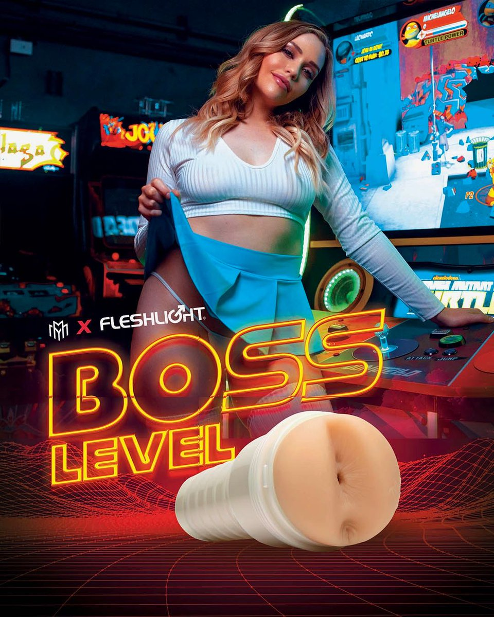"POV: You've been playing your favorite video game all night. You've just reached the end, @miamalkova's ""Boss Level"". Can you handle her NEW butt Fleshlight? Find out at"