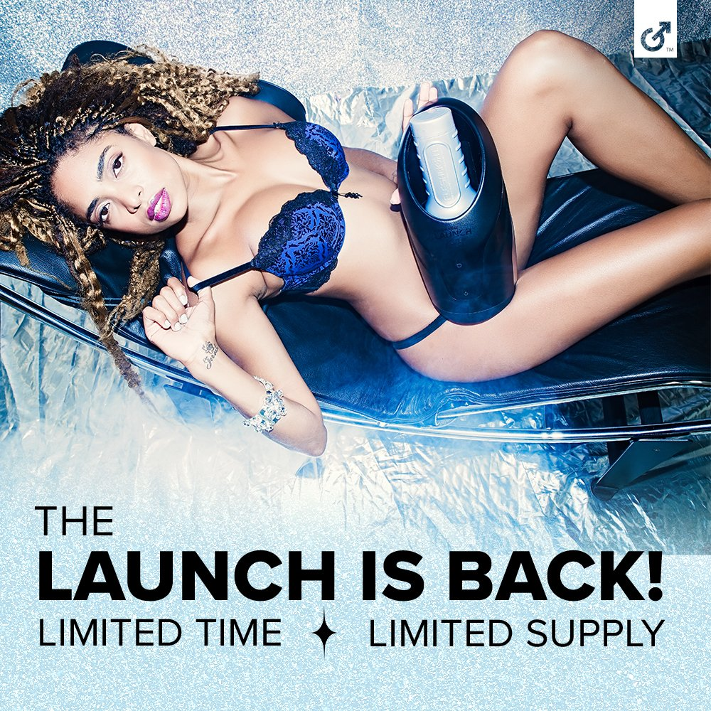 The first automated Fleshlight experience is back, but for a limited time! We only have a limited stock of Launch products available before they're gone FOREVER! Only at